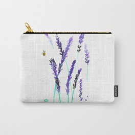 Lavender & Bees Carry-All Pouch