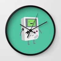 video games Wall Clocks featuring Who wants to play video games?  by Dean Lord