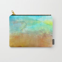 Abstract Textured Landscape Carry-All Pouch