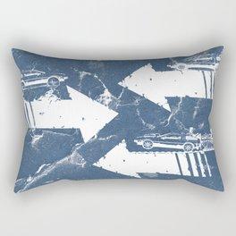 Back to the Future Minimalist Poster Rectangular Pillow
