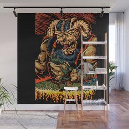 judgment of the devil Wall Mural