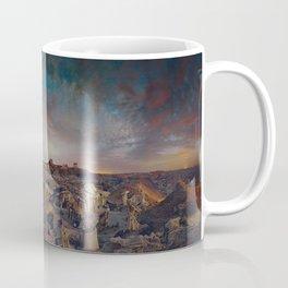 Exploring the Bisti Badlands of New Mexico Coffee Mug