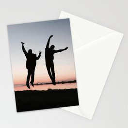 Sunset Jump Stationery Cards