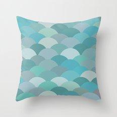 Circles Abstract 4 Throw Pillow