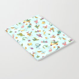 Funny Birds Notebook