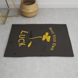 Make Your Own Luck (1/2) Rug