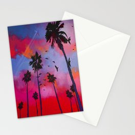 Pacific Sunset Stationery Cards