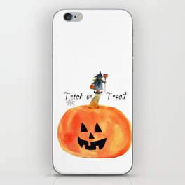 Trick or Treat iPhone Skin