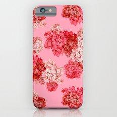 hydrangea (doubled) iPhone 6s Slim Case