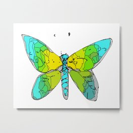 Butterfly-3 Metal Print