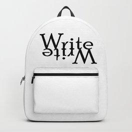 Write (Turned) Backpack