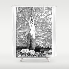 asc 546 - Le sacrifice cyclique (The recurring sacrifice) Shower Curtain