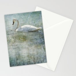 A Swan's Reverie Stationery Cards