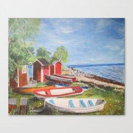 Ystad, Sweden Canvas Print