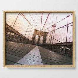 Brooklyn Bridge, New York City Serving Tray
