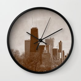 A glimps of the past Wall Clock