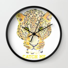 Sexy Panther Wall Clock