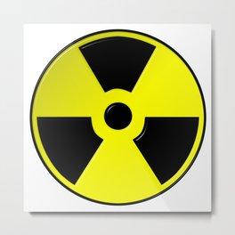 Nuclear Symbol Metal Print