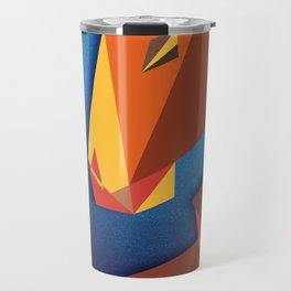 Abstract horse- Caballo abstracto Travel Mug