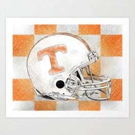 Tennessee Volunteers Art Print
