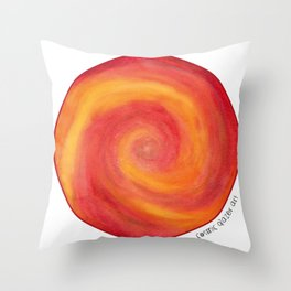 Pele Fire Throw Pillow