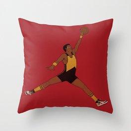 Air Geordi Throw Pillow