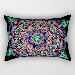 Watermelon Mandala Rectangular Pillow