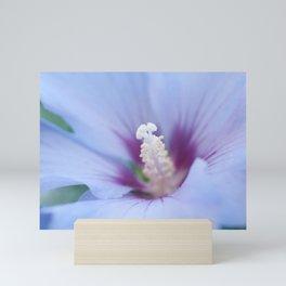 Soft Purple Hibiscus Flower #1 #art #society6 Mini Art Print