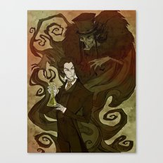 Dr. Jekyll and Mr. Hyde Canvas Print