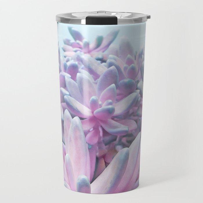 Sweet Succulents Travel Mug