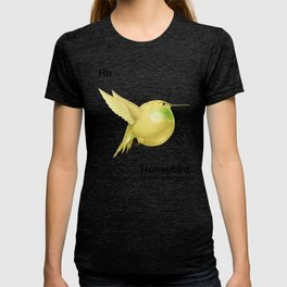 Hh - Honeybird // Half Hummingbird, Half Honeydew Melon T-shirt