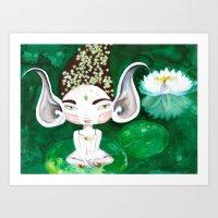 Bhoomie All-Ears Art Print