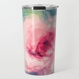 Abstract Flower II Travel Mug