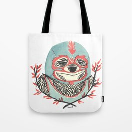 LuchaSloth Tote Bag