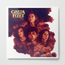 greta van fleet band tour Metal Print