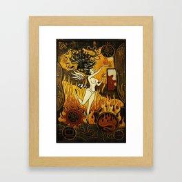Paul Chatem_It Had To Happen Framed Art Print