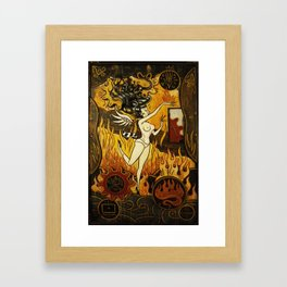 Paul Chatem_It Had To Happen Framed Art Print
