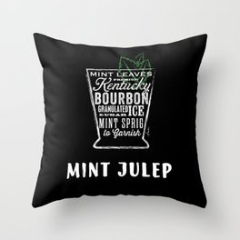 Mint Julep by Stephen Fowler Throw Pillow