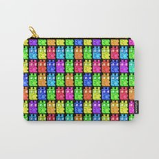 Pixel Gummy Bears Carry-All Pouch
