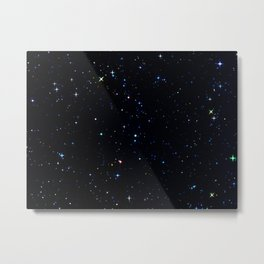 Rainbow Constellations Metal Print