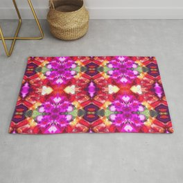 Palace Passion Flower Pattern Design  Rug