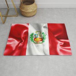 Peru Flag Rug