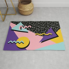 Memphis Pattern 23 - 80s Retro - Pastel Colors Rug