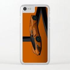 racing super car Clear iPhone Case