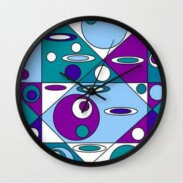 Geometrical Circles and Ellipses Wall Clock
