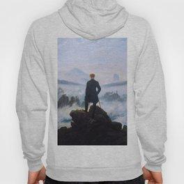 "Caspar David Friedrich ""Wanderer above the sea of fog"" Hoody"