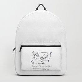 Cat Nap Haiku Backpack