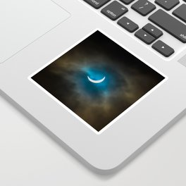 Solar Eclipse III Sticker
