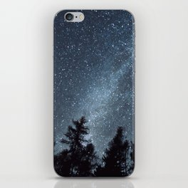 Milky Way in the Woods | Nature and Landscape Photography iPhone Skin