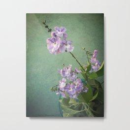 Purple Geishas Metal Print